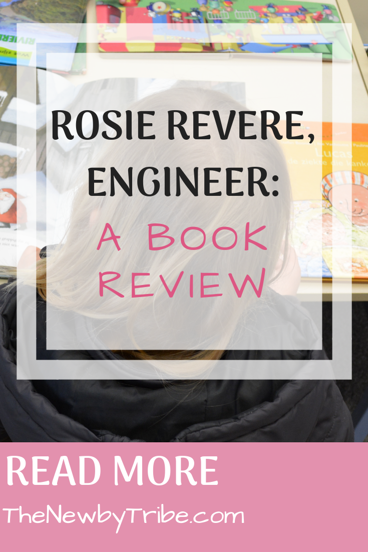 Pinnable Image on Rosie Revere, Engineer_ A Book Review