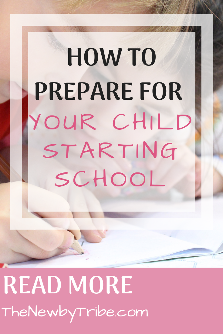 Pinnable Image on How to prepare for your child starting school