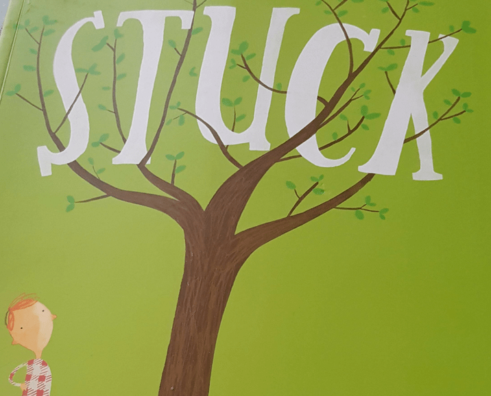 Stuck by Oliver Jeffers - a fabulous picture book guaranteed to make your little ones giggle!