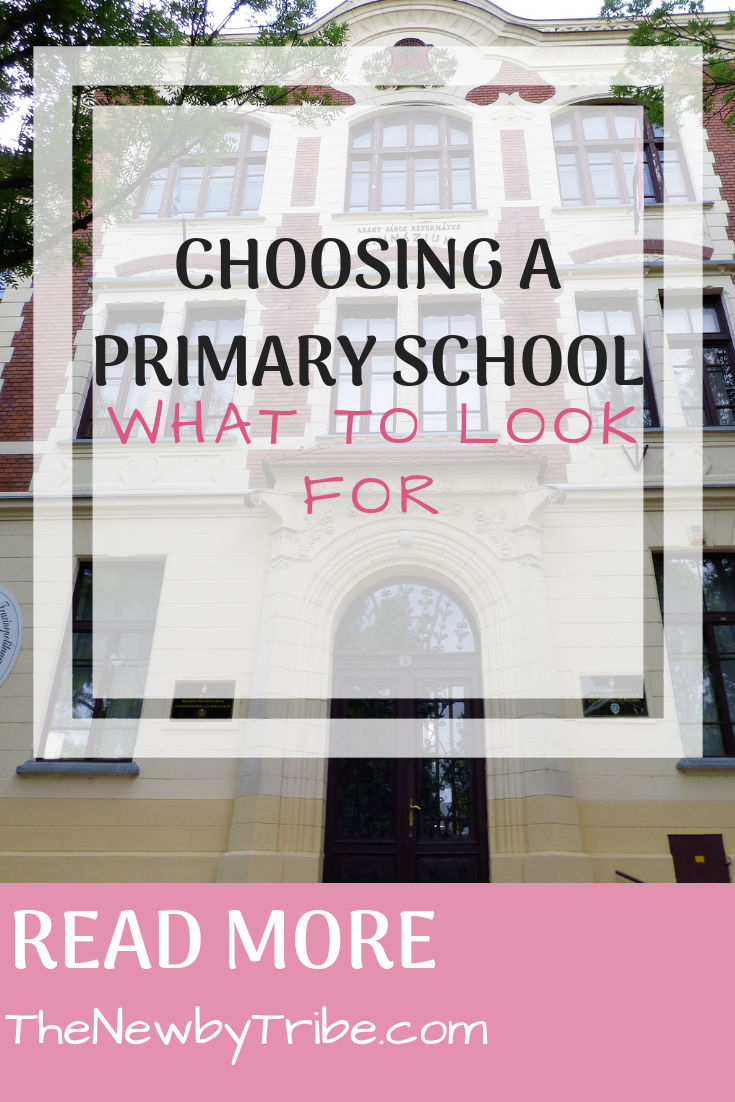 Pinnable image for Choosing a Primary School - What To Look For
