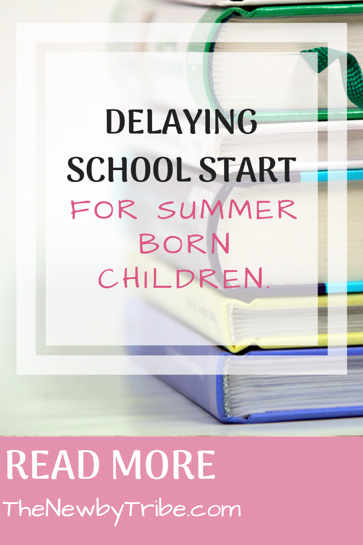 Pinnable image for Delaying School Start For Summer Born Children.