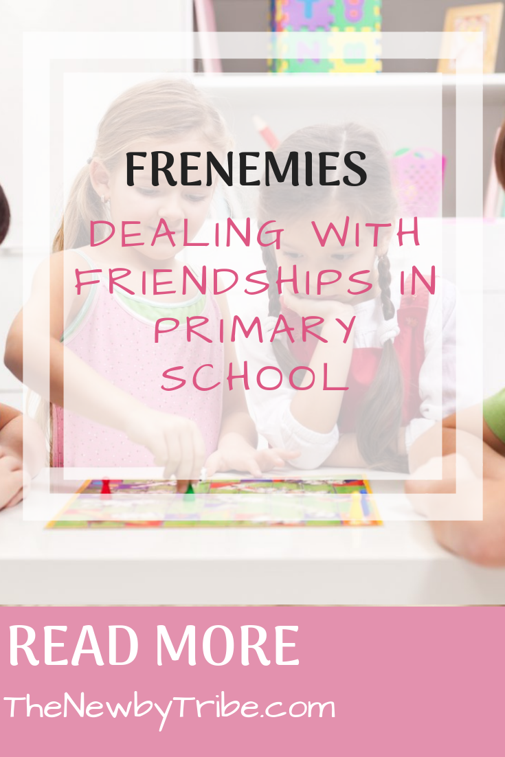 Pinnable image for Frenemies - Dealing With Friendships In Primary School