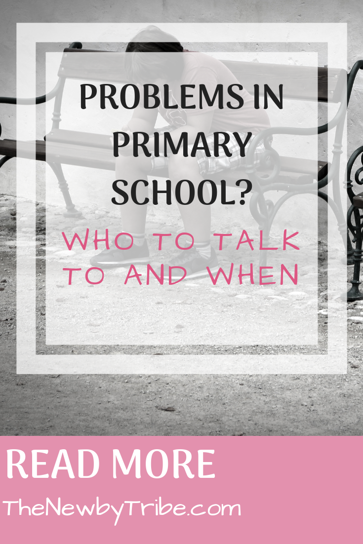 Pinnable Image for Problems in Primary School_ Who to Talk to and When