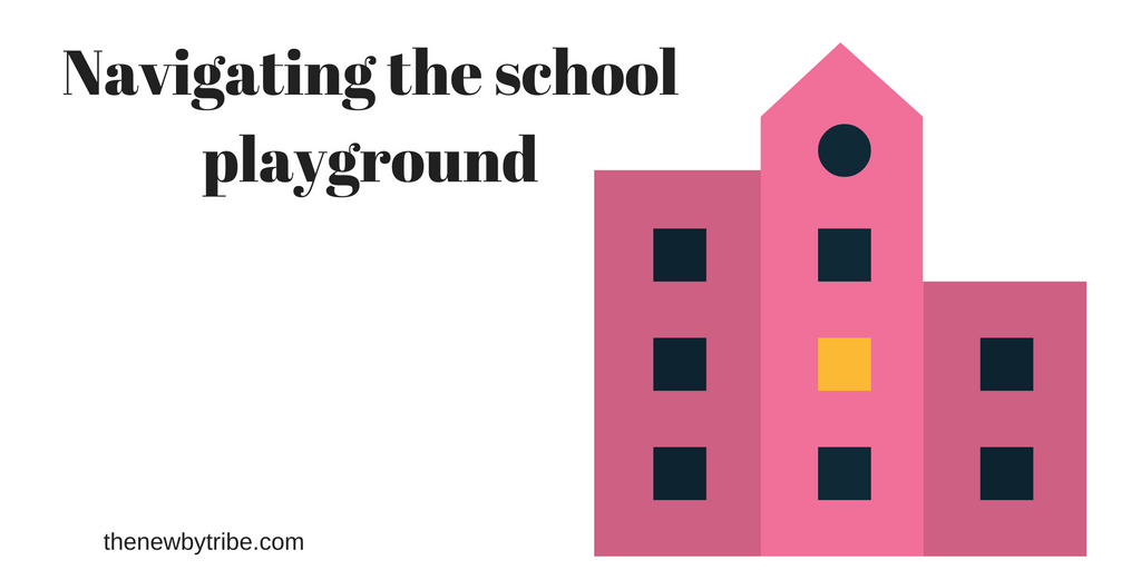 Are you wondering about navigating the school playground? Wondering how to make friends with parents in the playground? Here are 5 top tips!