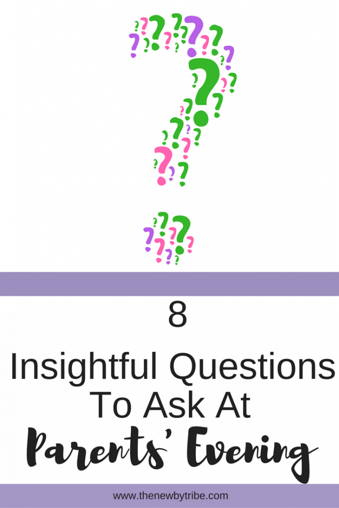 Are you heading off to Parents' Evening soon? Wondering what to ask? Here are 8 insightful questions that will help you find out more about your child at school.