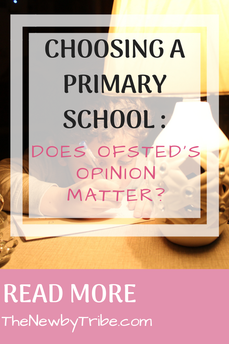 Pinnable image for Choosing A Primary School _ Does Ofsted's Opinion Matter_
