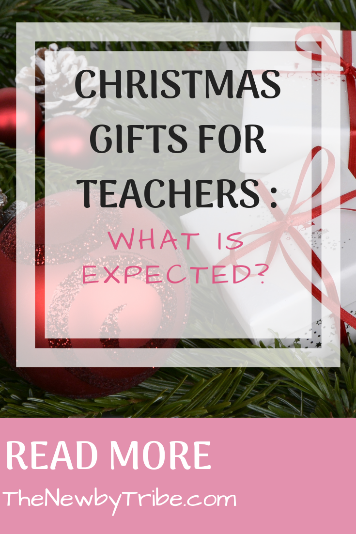 Pinnable image for Christmas Gifts For Teachers _ What Is Expected_