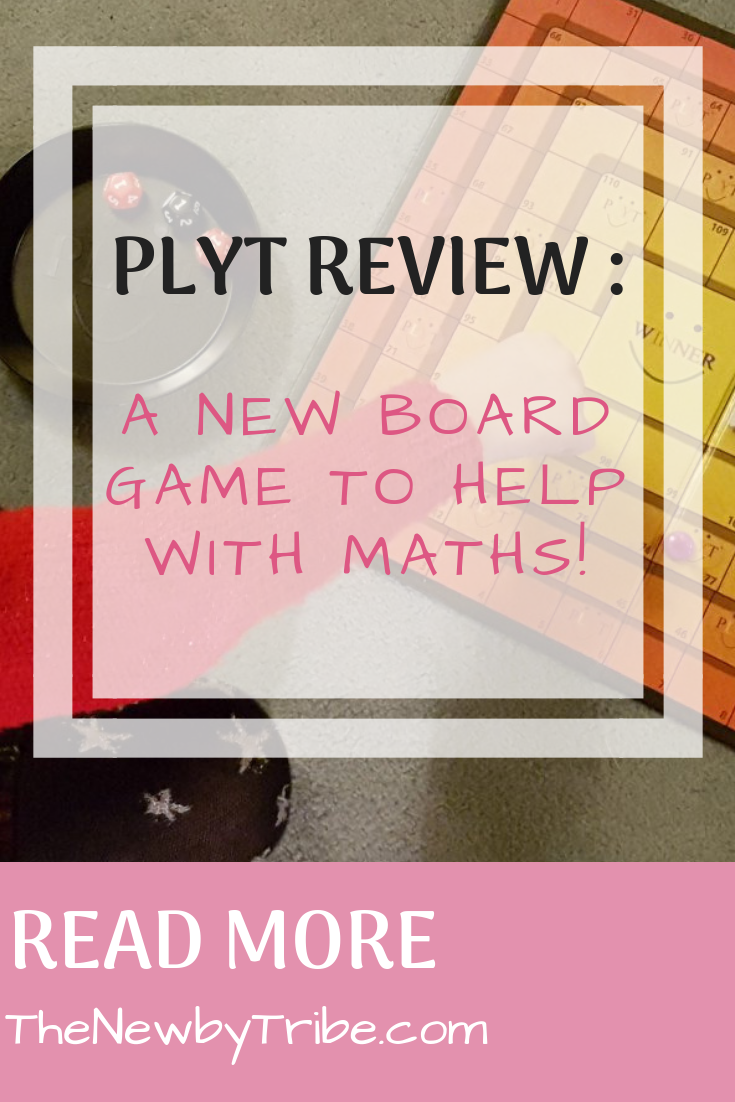 Pinnable image for PLYT Review : A New Board Game To Help With Maths!