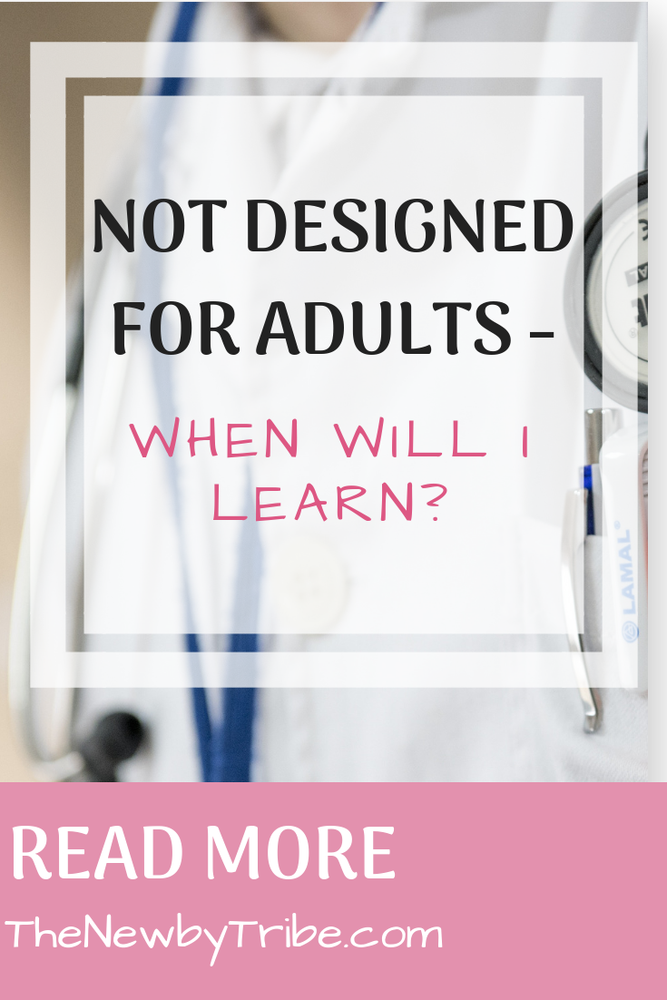 Pinnable image for Not Designed For Adults - When Will I Learn_