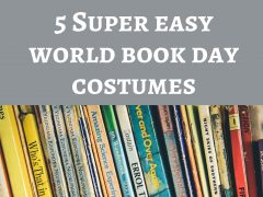 super easy world book day costumes