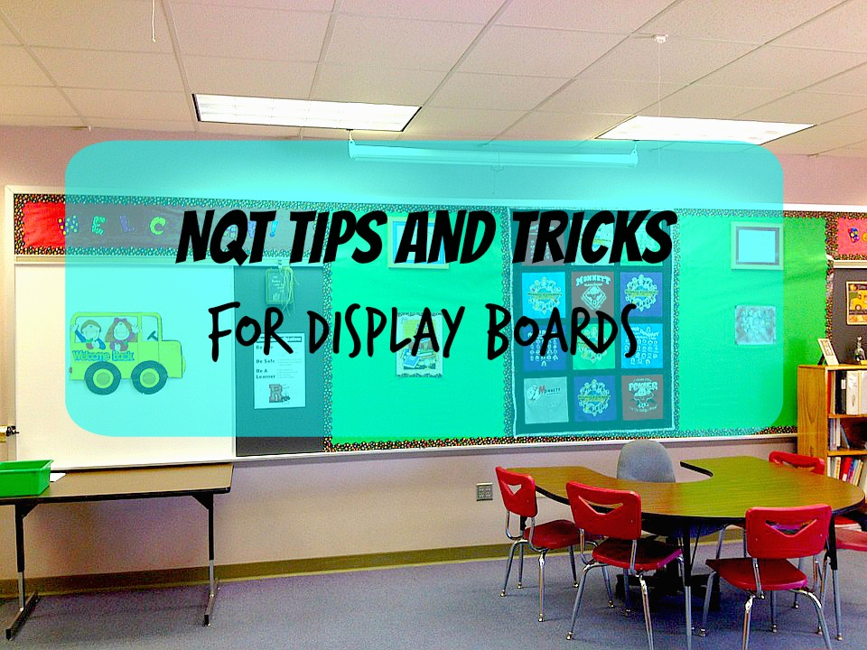 Setting up display boards for the first time can feel overwhelming. Check out these top tips and tricks for NQT's on how to set up perfect display boards!