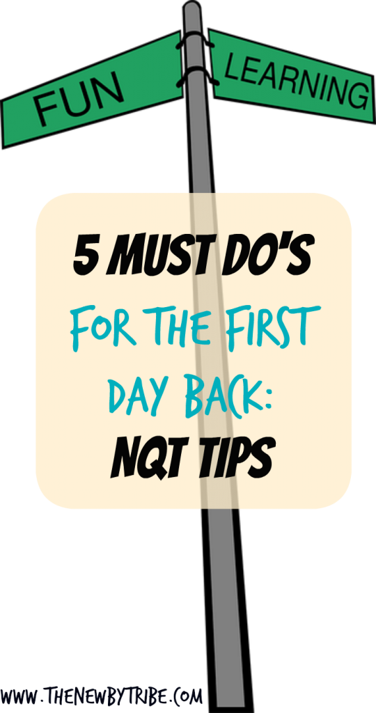 Are you an NQT wondering what on earth to do during the first day back? Check out these top 5 tips from a Headteacher to get you started on the right foot.