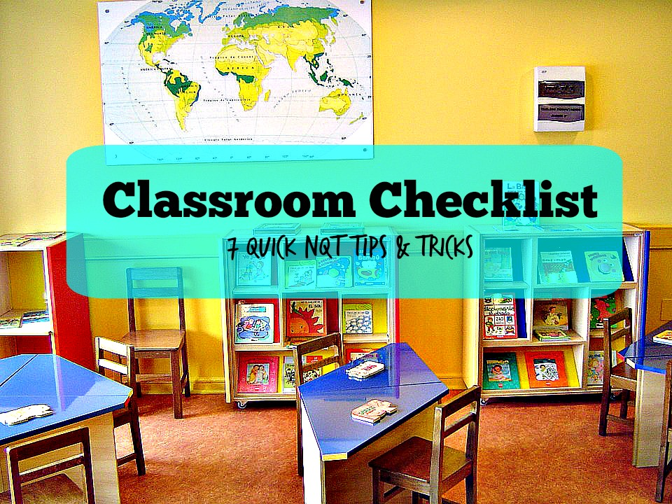 Wondering how to set up your classroom for the coming year? Here is my classroom checklist : 7 great tips and tricks for NQT's.