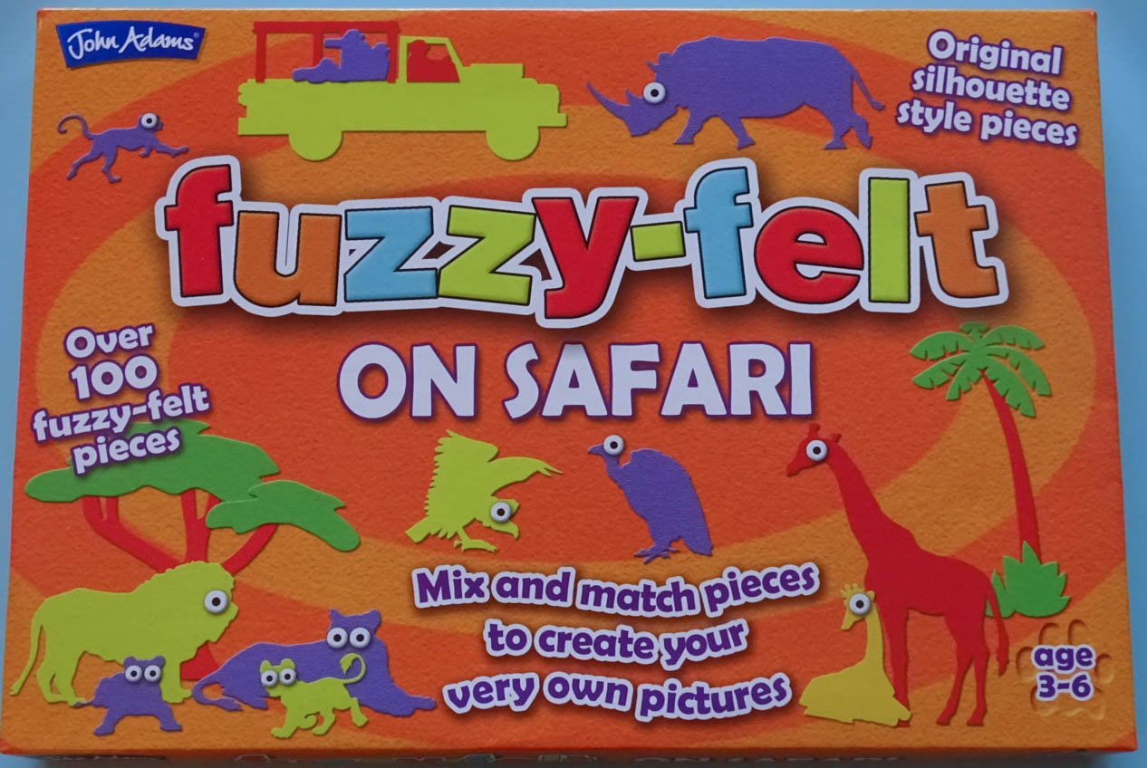 The Newby Tribe review the classic children's toy, Fuzzy-Felt.