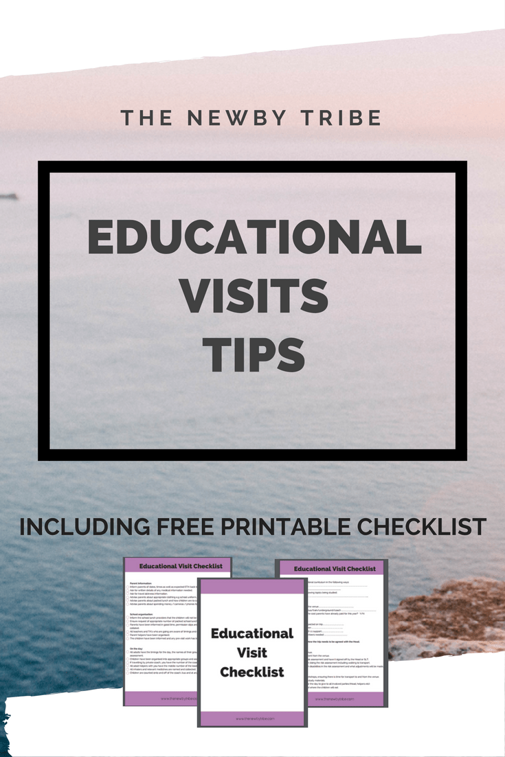 Are you planning or thinking of planning an educational visit. Click through to get tips on how to make sure the day goes smoothly! Don't forget to download your FREE visits checklist to keep the day on track!