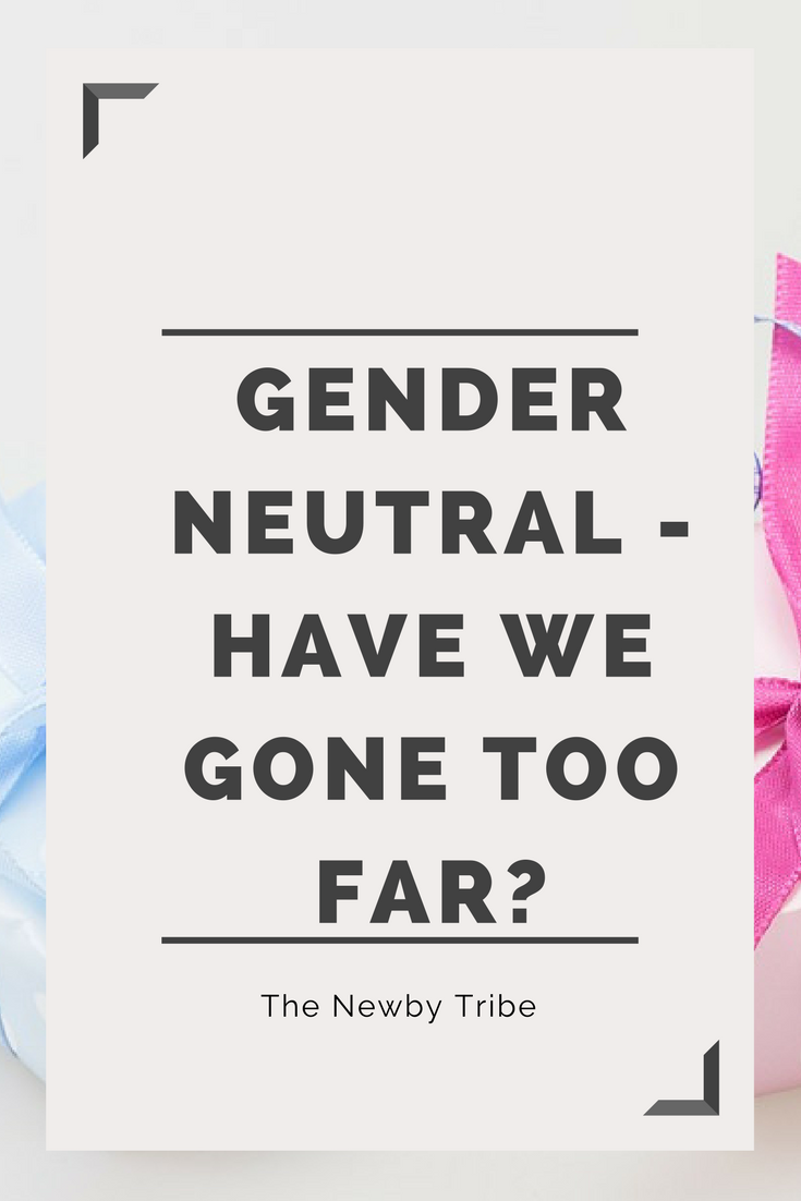 The gender neutral debate has been raging for while now. But have we gone too far the other way? What about talking about our boys?? Click through to find out our take on the gender neutral debate.