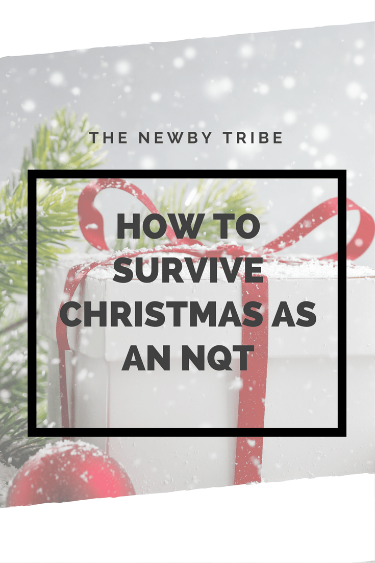 Wondering how to survive Christmas as an NQT? Click through for top tips on how to make it safely to Christmas.