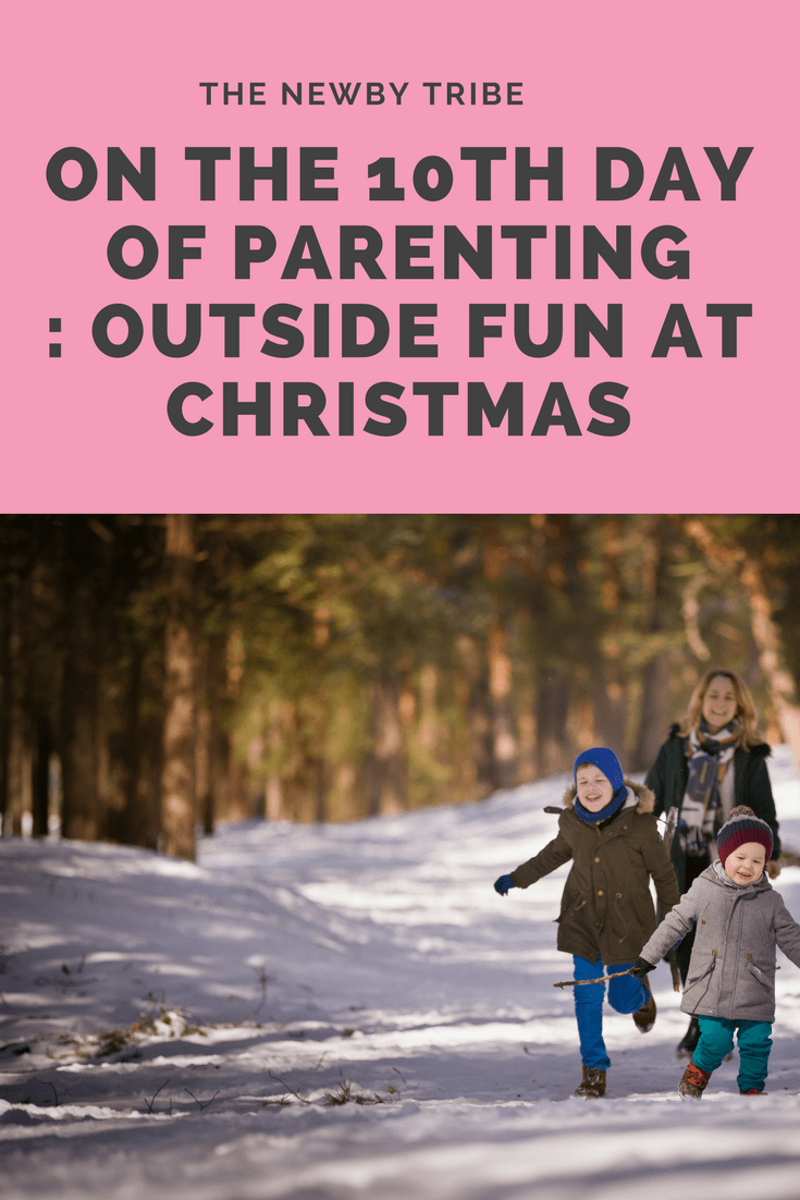 Outside Fun At Christmas - great ideas and inspiration.