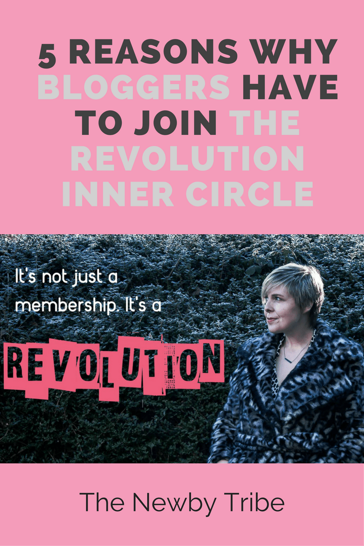 Are you a blogger looking to make your blog a business? Feeling a bit lost and alone?? i've got just the place you NEED to be! The Revolution Inner Circle! Click through for more info on the most inspirational place on the internet.