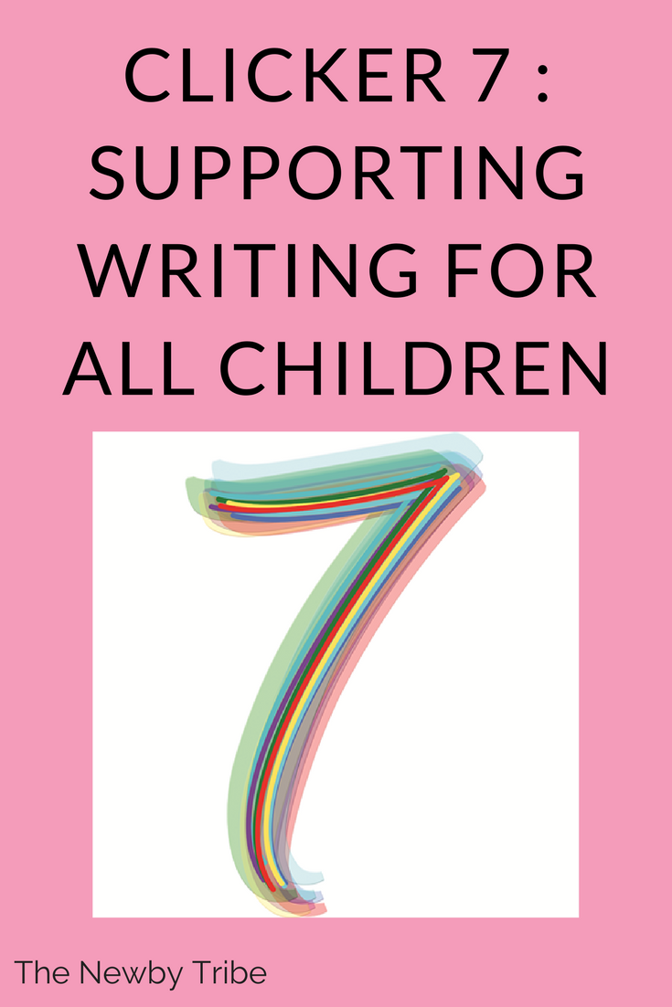 Finding resources to support writing has always been one of the hardest things to do. However, Clicker 7, a powerful child friendly word processor, is taking the stress out of writing for all children!