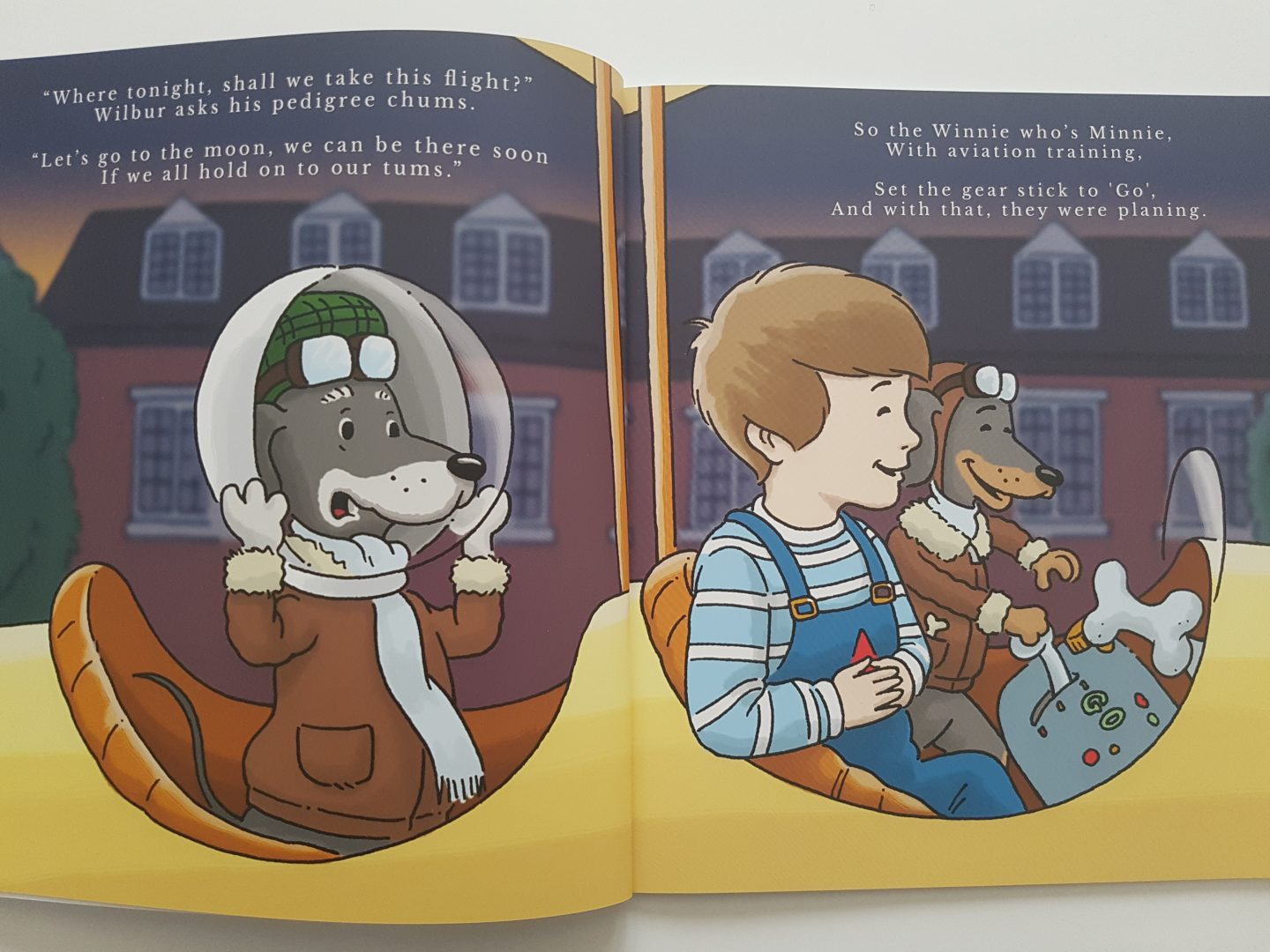 The Wilbies is a lovely self published book for 2-7 year olds full of beautiful illustrations and fabulous rhymes!